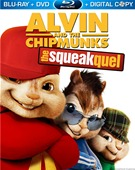 Alvin and the Chipmunks: The Squeakquel Blu-ray box