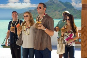 Couples Retreat movie scene with Vince Vaughn