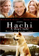 Hachi: A Dog's Tale DVD box