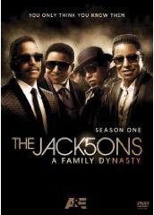 The Jacksons: A Family Dynasty DVD box