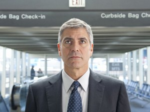 Up in the Air movie scene with George Clooney