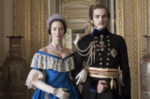The Young Victoria movie scene with Emily Blunt and Rupert Friend