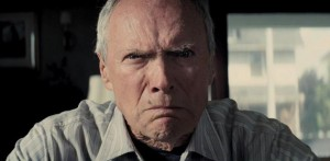 Gran Torino movie scene with Clint Eastwood