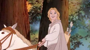 The Lord of the Rings animated movie scene by Ralph Bakshi