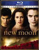 Twilight Saga: New Moon Blu-ray box