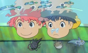 Ponyo movie scene