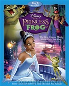 The Princess and the Frog Blu-ray box