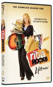 Rita Rocks: Season One DVD box