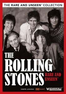 The Rolling Stones Rare and Unseen DVD box