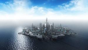 Stargate Atlantis scene