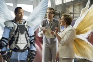 Tooth Fairy movie scene with Dwayne Johnson, Stephen Merchant and Julie Andrews