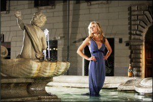 When in Rome movie scene with Kristen Bell