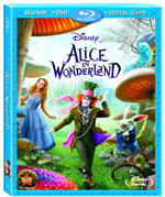 Alice In Wonderland Blu-ray/DVD Combo box