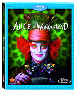 Alice in Wonderland single Blu-ray box