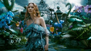 Alice in Wonderland movie scene with Mia Wasikowska