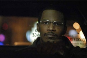 Collateral movie scene with Jamie Foxx