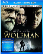 The Wolfman Blu-ray box