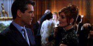 The Thomas Crown Affair movie scene with Pierce Brosnan and Rene Russo