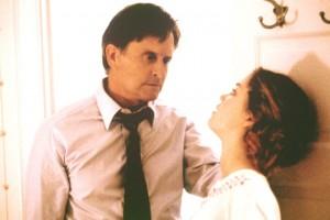 Traffic movie scene with Michael Douglas and Erika Christensen