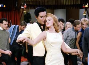 Viva Las Vegas movie scene with Elvis Presley