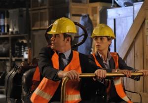 Warehouse 13: Season One scene with Eddie McClintock and Joanne Kelly