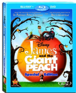 James and the Giant Peach Blu-ray box