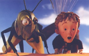 James and the Giant Peach movie scene