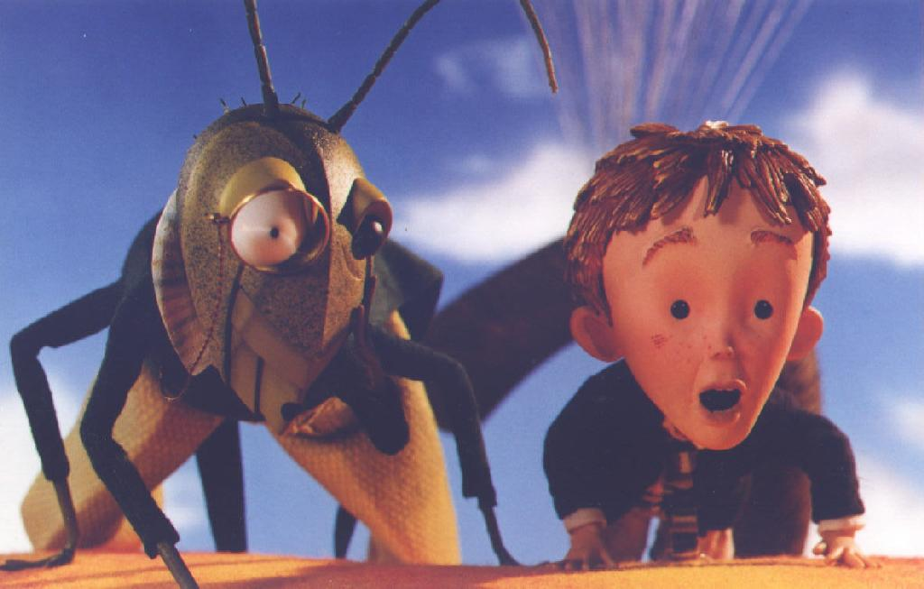 Paul Terry James And The Giant Peach