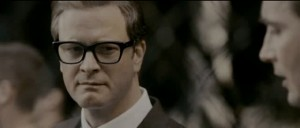 A Single Man movie scene with Colin Firth