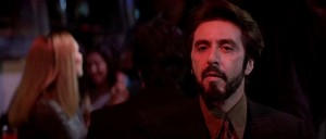 Carlito's Way movie scene with Al Pacino
