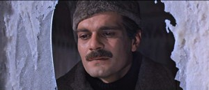 Doctor Zhivago movie scene with Omar Sharif