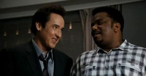 Hot Tub Time Machine movie scene with John Cusack and Craig Robinson