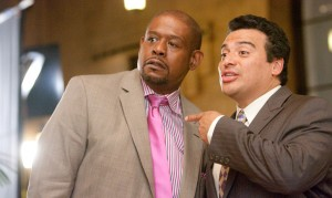 Our Family Wedding movie scene with Forest Whitaker and Carlos Mencia