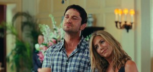 The Bounty Hunter movie scene with Gerard Butler and Jennifer Aniston