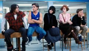 The Breakfast Club movie scene