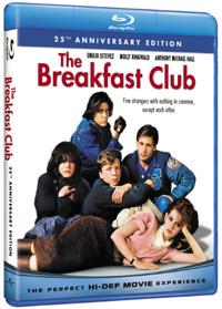 The Breakfast Club Blu-ray box