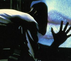 Videodrome movie scene