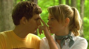 Youth in Revolt movie scene with Michael Cera and Portia Doubleday