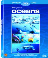Disneynature Oceans Blu-ray box