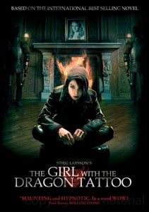 The Girl with the Dragon Tattoo DVD box