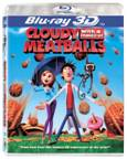 Cloudy With a Chance of Meatballs Blu-ray 3D box