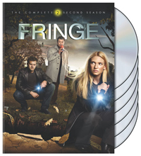Fringe: The Complete Second Season DVD box