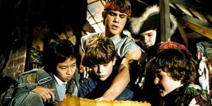 The Goonies movie scene