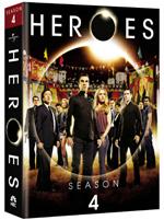 Heroes Season 4 DVD box