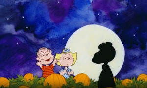 It's the Great Pumpkin, Charlie Brown movie scene