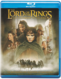 Lord of the Rings: Fellowship of the Ring Blu-ray box