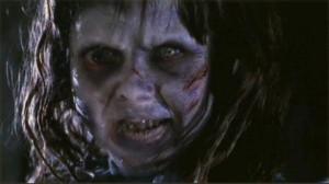 The Exorcist movie scene with Linda Blair