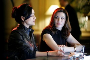 The Good Wife TV scene