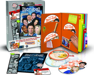 Scrubs: The Complete Collection DVD box