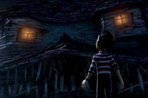 Monster House movie scene